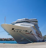 Cruise ship Carnival Sunshine at dock Stock Images