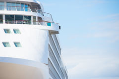 Cruise ship close up royalty free stock images