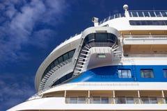 Cruise ship closeup Stock Photo