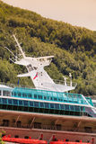 Cruise ship closeup Royalty Free Stock Image