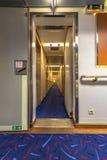 Cruise ship corridor Royalty Free Stock Photography