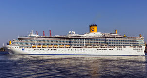 Cruise ship Costa Deliziosa Royalty Free Stock Photos