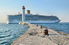 Cruise ship Costa Deliziosa Stock Image