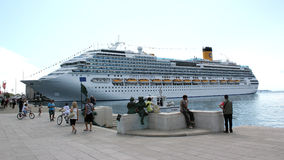 Cruise ship Costa Favolosa Royalty Free Stock Images