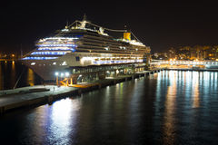Cruise ship Costa Favolosa Stock Photo