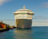 The cruise ship costa magica calling at kingstown port in the windward islands Stock Photo