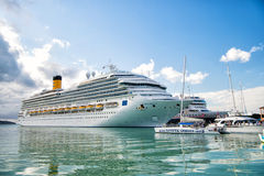 Cruise Ship Costa Magica Royalty Free Stock Photo