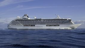 Cruise ship Crystal Serenity Royalty Free Stock Image