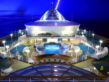 Cruise ship deck Stock Photos