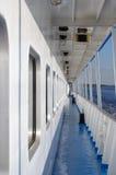 Cruise ship deck Royalty Free Stock Photo