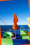 Cruise ship deck detail Royalty Free Stock Photos