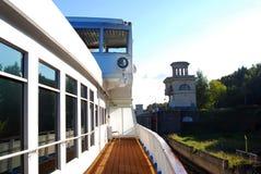 Cruise ship deck. Stock Image