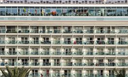 Cruise Ship Decks At Port Royalty Free Stock Photos