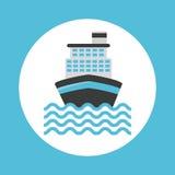 Cruise ship design Royalty Free Stock Photos