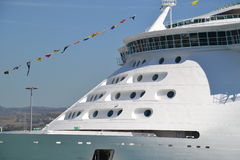Cruise ship detail Stock Image