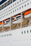 Cruise ship detail Stock Photography