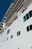 Cruise Ship Details Stock Image