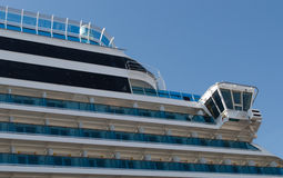 Cruise Ship Details Royalty Free Stock Photography