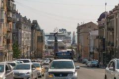 Cruise ship Diamond Princess. Royalty Free Stock Photography