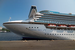 Cruise ship Diamond Princess. Stock Photo