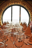 Cruise Ship Dining Royalty Free Stock Image