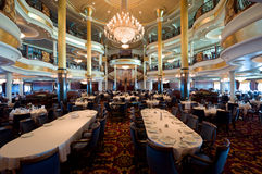 Cruise Ship Dining Room Stock Photography