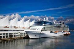 Cruise Ship Vancouver Canada Stock Photo