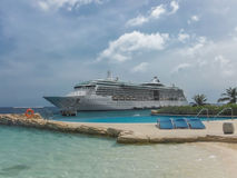 A cruise ship Royalty Free Stock Images