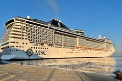 Cruise ship in Trieste - Italy