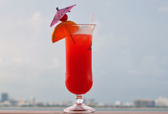 Cruise Ship Drink of the Day Stock Photos
