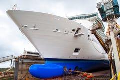 Free Cruise Ship Drydock Stock Images - 43924904