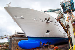 Cruise Ship Drydock Stock Images