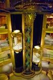 Cruise ship elevators Stock Photography