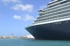 Cruise Ship Forward Section Stock Photography