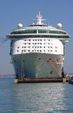 Cruise ship front bow stock photo