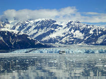 Cruise Ship and Glaciers Royalty Free Stock Photo