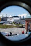 Cruise Ship, Greenwich Stock Photography