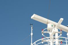 Cruise ship guidance system Royalty Free Stock Photography