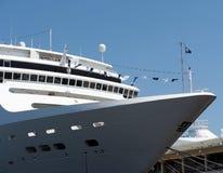 Cruise Ship In Havana Cuba Royalty Free Stock Image