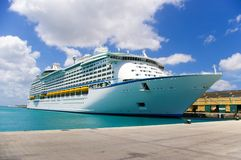 Cruise ship II Royalty Free Stock Photography