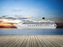 Cruise ship Stock Image
