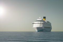 Cruise ship. An image of a nice ocean cruise ship Royalty Free Stock Photos