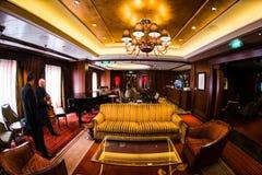 Cruise ship interior Royalty Free Stock Photo