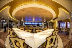 Cruise ship interior Stock Photos