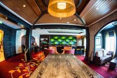 Cruise ship interior Stock Photo