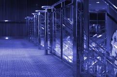 Cruise Ship Interior-Purple royalty free stock photos