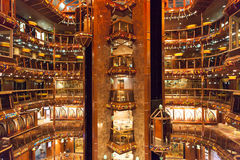 Cruise Ship Interior Royalty Free Stock Images
