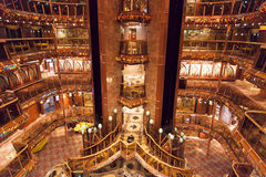 Cruise Ship Interior Stock Photography