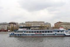 Cruise ship Ivan Kalita at Navigation season opening in Moscow Stock Photo