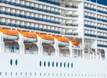 Cruise Ship, Karakoy Port / Istanbul - TURKEY Stock Photo